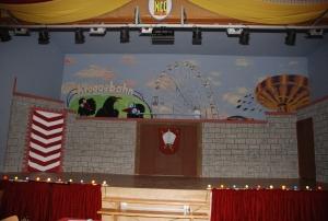 Bühne und Saal